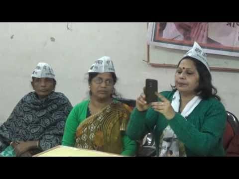 NEWS VANGUARD AGT.telecast news 1/1/2017 Aam aadmi party pathibad sava karben press meet kare bollo