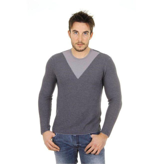 Giorgio Armani mens cashmere sweater round neck SSM27M SS35M 611 D205-3185-9277-8059292833744