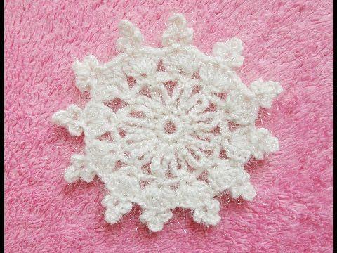 Вязание крючком Crochet : СНЕЖИНКА  Snowflake Crochet