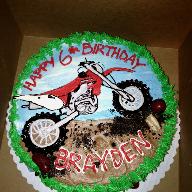 dirt bike cake - photo #23