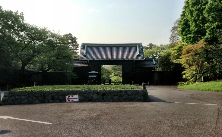 江戸城 乾門 i 千代田区, 東京都