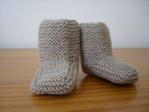 Tuto chaussons bébé