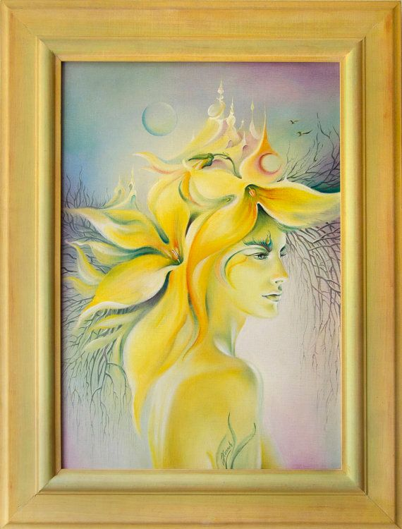 """""""The Forsythia"""" from the series """"Gaia"""""""