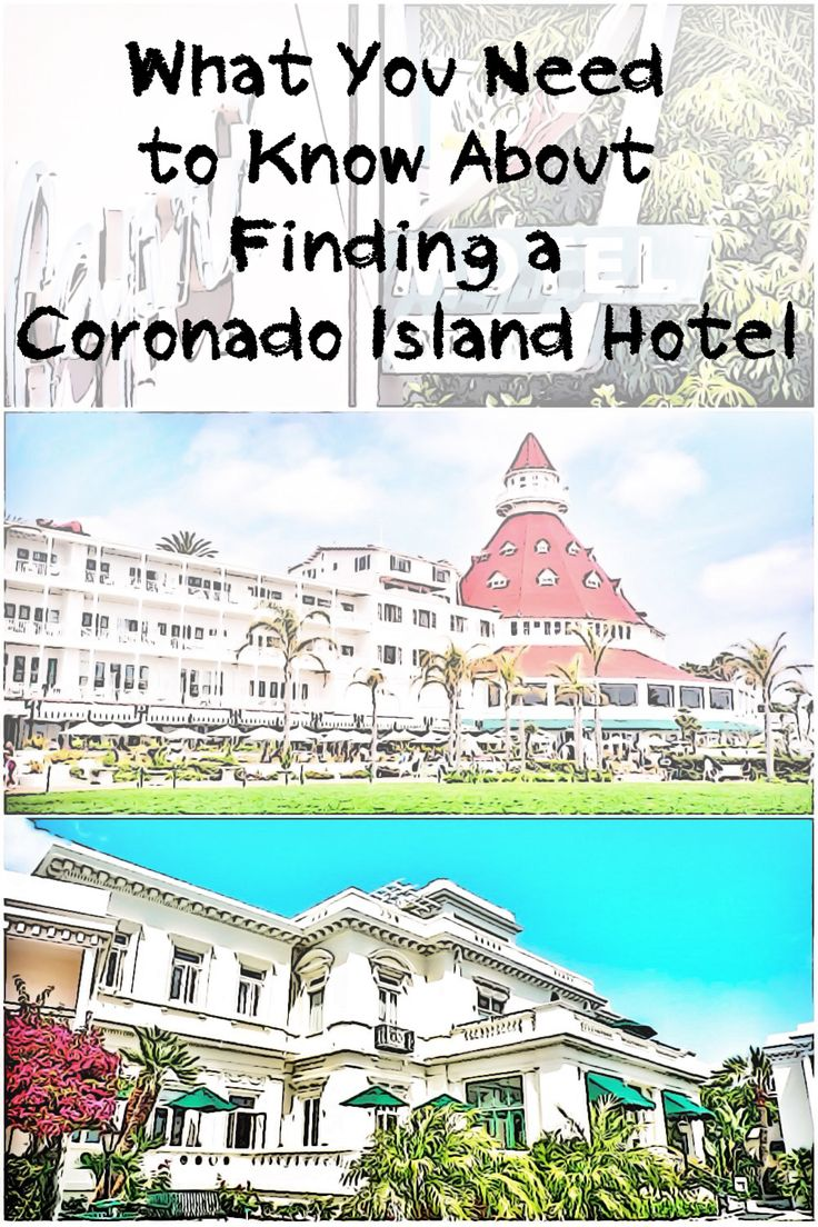 Read this before you choose a Coronado Island hotel to get all the dirty little details that no one else will tell you.