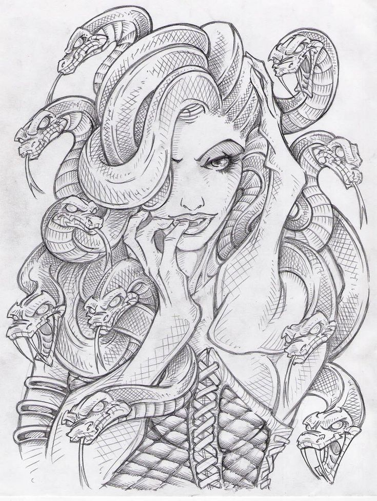 Medusa 13 by ~sidewinder72 on deviantART