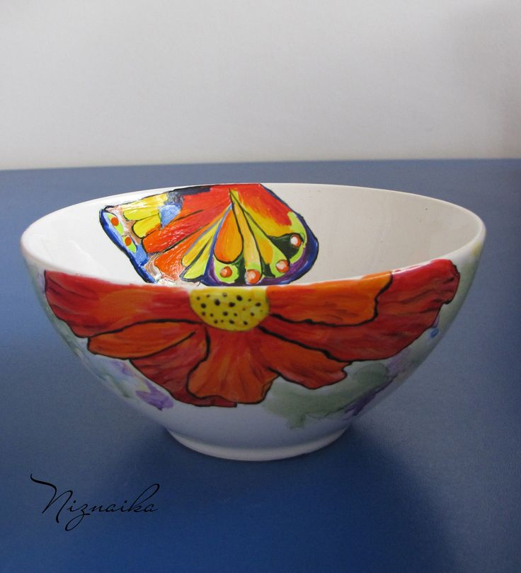 painted ceramic bowl1
