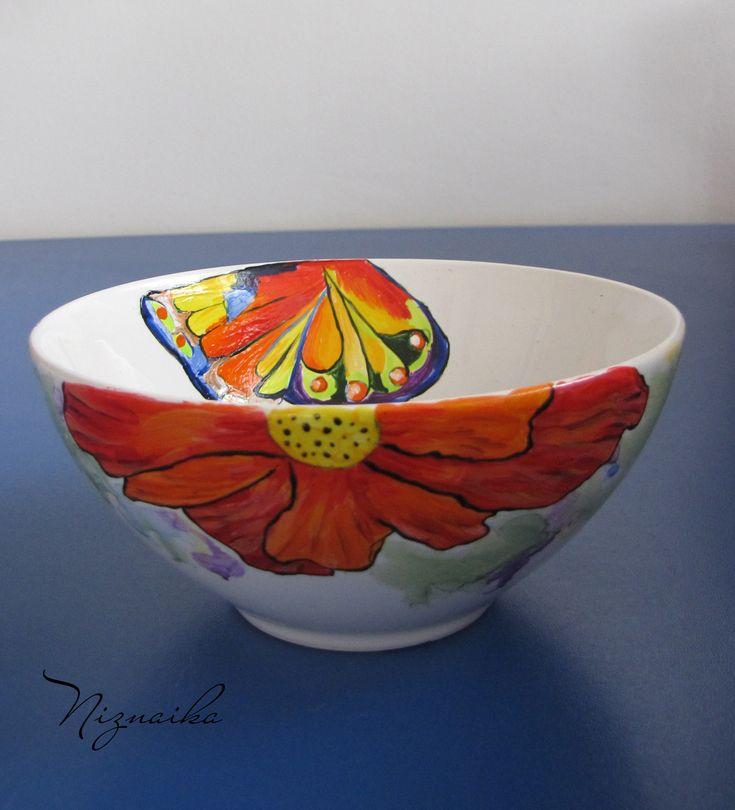 painted ceramic bowl1