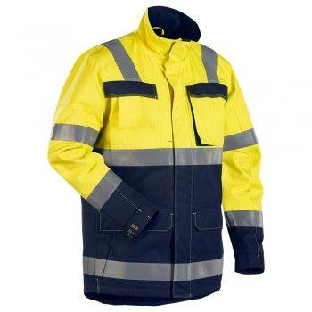 """Winterparka """"4468"""" Multinorm - BLAKLÄDER® #Blåkläder #mulitnorm #multinormparka #winterparka"""