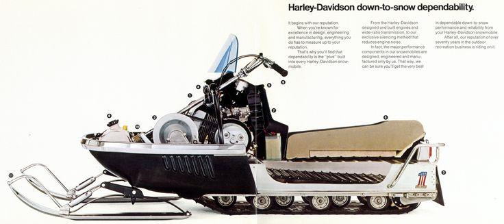harley davidson snowmobile - Google Search
