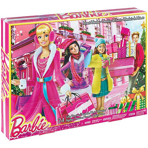 Buy Barbie Advent Calendar Online at johnlewis.com