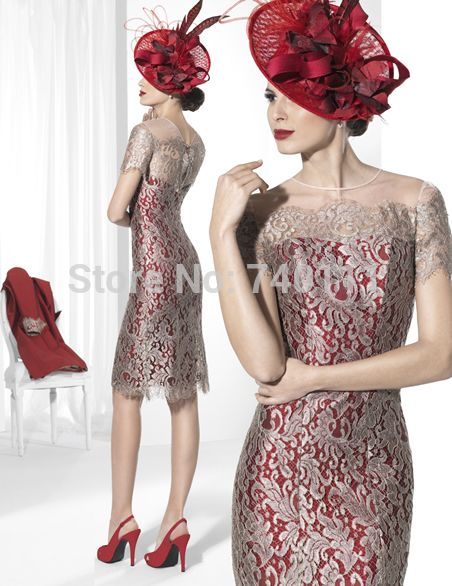 New Lace Mother Of The Bride Dress Red Long Stand Collar Coat Women Formal Outfit For Wedding vestido de festa longo-in Mother of the Bride Dresses from Weddings & Events on Aliexpress.com   Alibaba Group