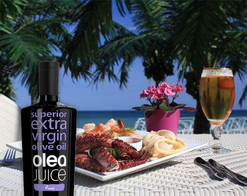 Olea Juice extra virgin #oliveoil served with all dishes!!