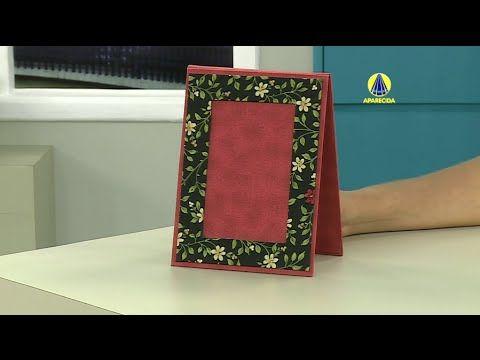 Vida com Arte | Porta Retrato em Cartonagem por Patricia Godoi - 26 de f...