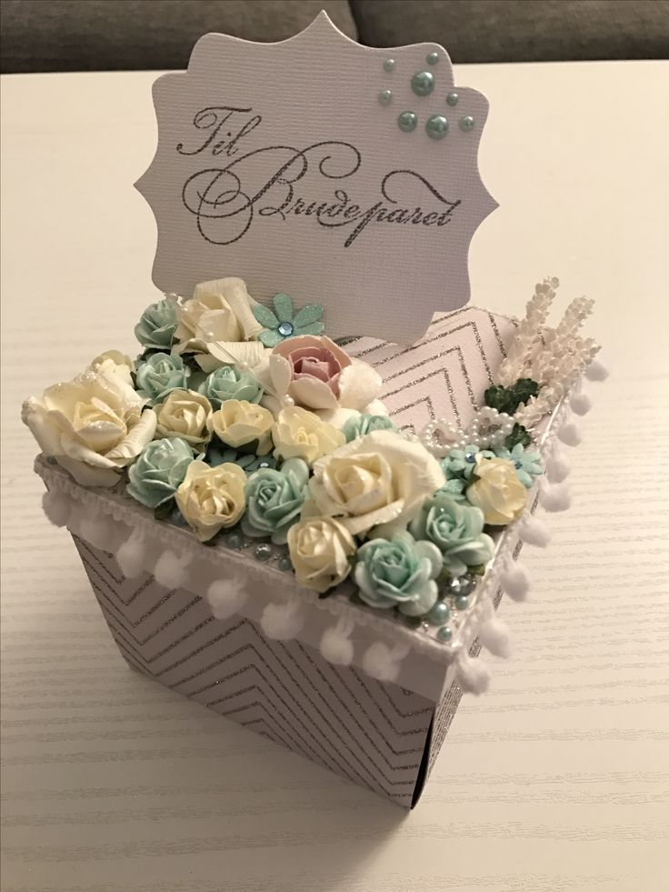 Wedding explotion box