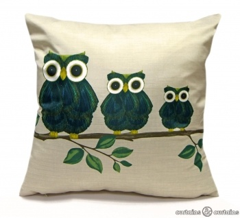 An adorable three little owls cushion! #cncfavouritethings