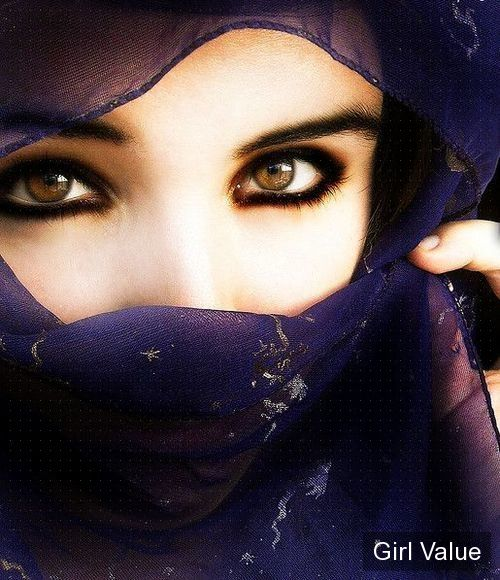 beautiful eyes in niqab