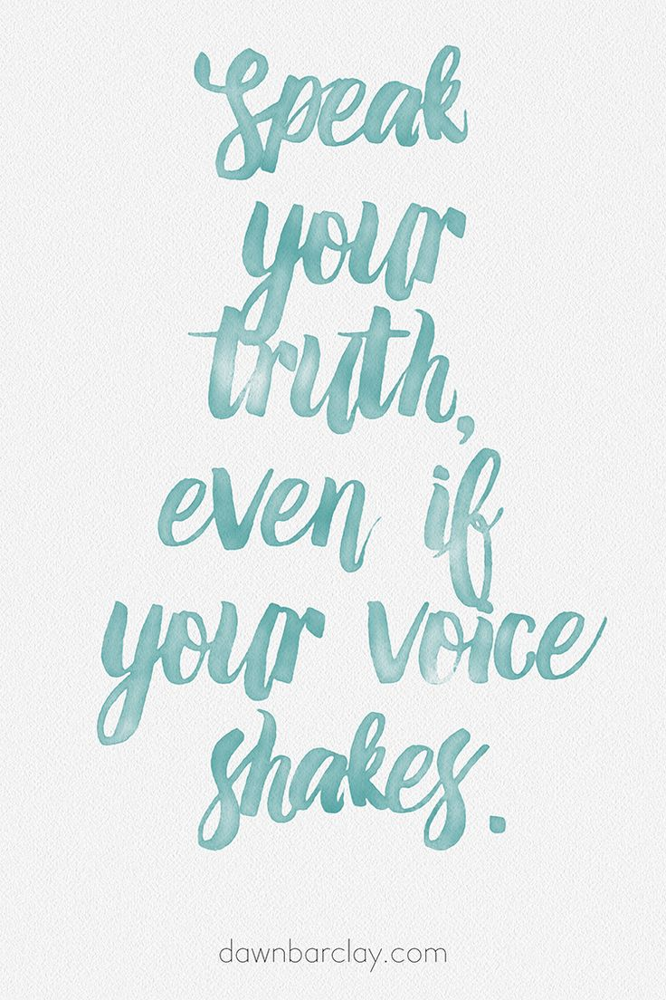 Speak Your Truth Even If Your Voice Shakes (Or The Day I Bit the Dentist)