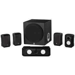 Yamaha NS-SP1800BL 5.1-Channel Home Theater Speaker System with Mini Tool Box (cog) by Yamaha. $279.00. The Yamaha NS-SP1800 5.1-channel speaker package offers authentic audio quality. Yamaha NS-SP1800 includes a powerful 100-watt subwoofer for full surround home theater enjoyment. This affordable speaker system features Advanced YST (Yamaha Active Servo) Technology--a unique system in which the speaker and amplifier work together to cancel out impedance to ens...