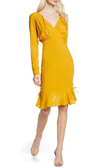 New Finders Keepers Bloom Long Sleeve Cinch Dress Online Shopping Dresses Fashion Clothes Women Nordstrom Dresses
