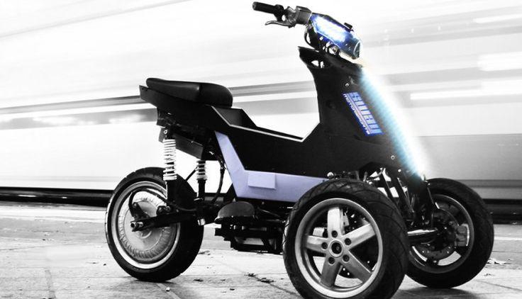 Sway triciclo eléctrico