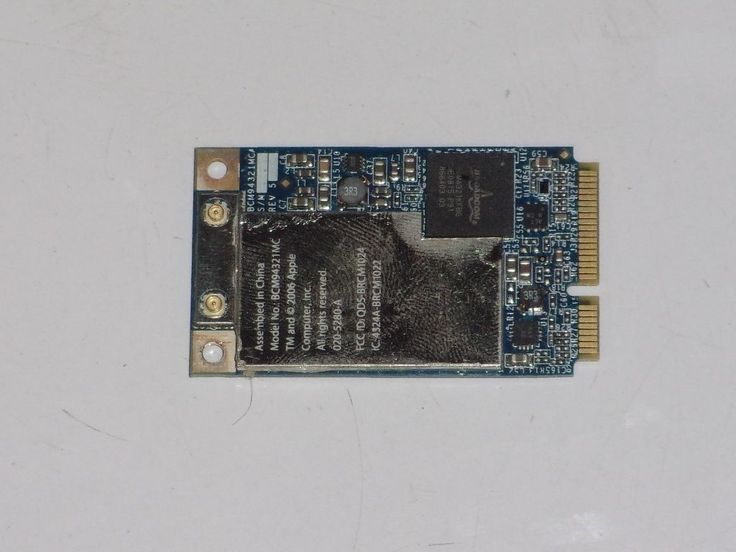 Apple MacBook Pro A1226 Wireless WiFi Card 607-2052-A