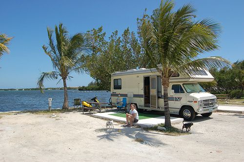 Boyd's Key West Campground, Florida.