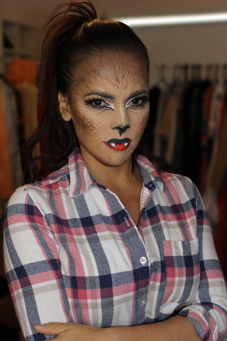 SARAH & ELIZABETH : Werewolf Halloween makeup | dressup ...