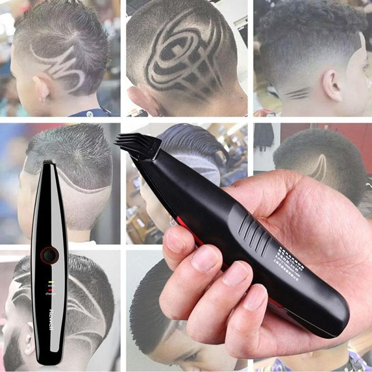 1Pc Professional Electric Hair Trimmer Hair Clipper Hair styling Carving Cutting Machine Barber Haircut hair style tool RP1-5
