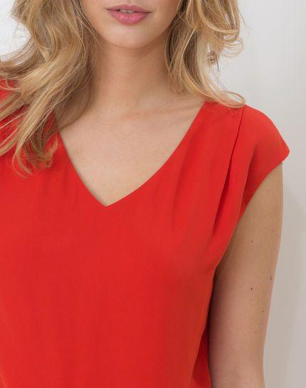 Tee-shirt rouge Neptune
