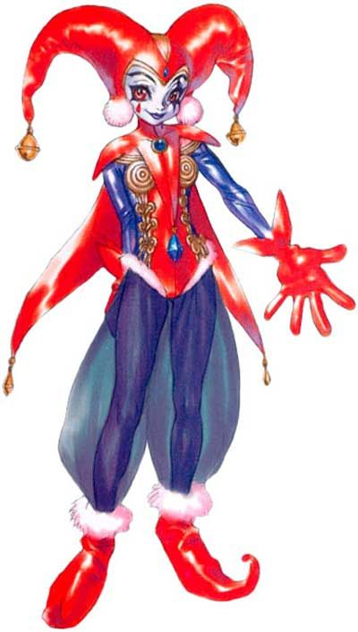Chrono Cross Cosplay -- Harle Cosplay Costume Version 01