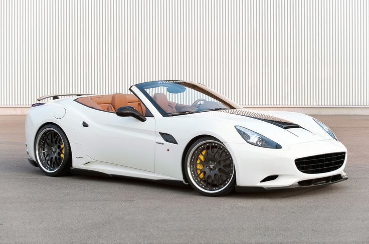 White Hamann Ferrari California F149