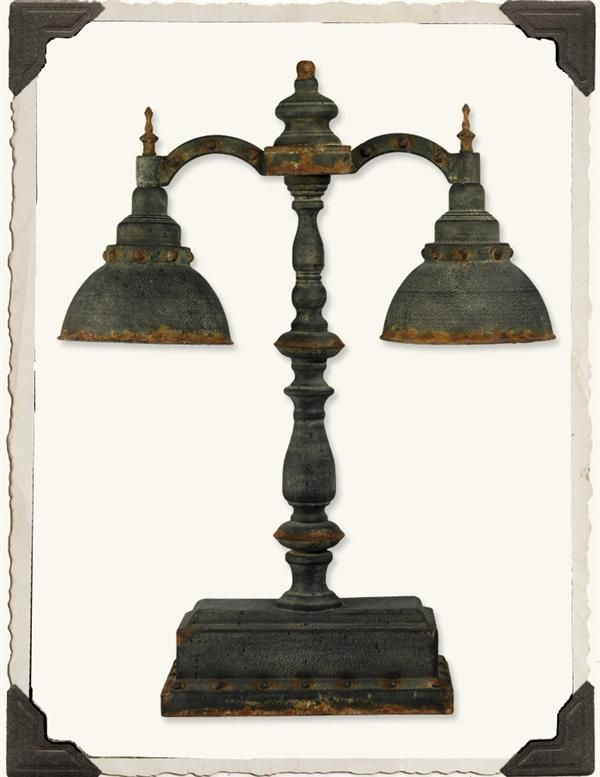 PUBLIC LIBRARY LAMP