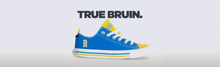 """""""The Sole of every Bruins Fan."""" For UCLA fans everywhere, whether you are walking by Royce Hall, eating at Gushi, hanging out with friends at Barney's, doing th"""
