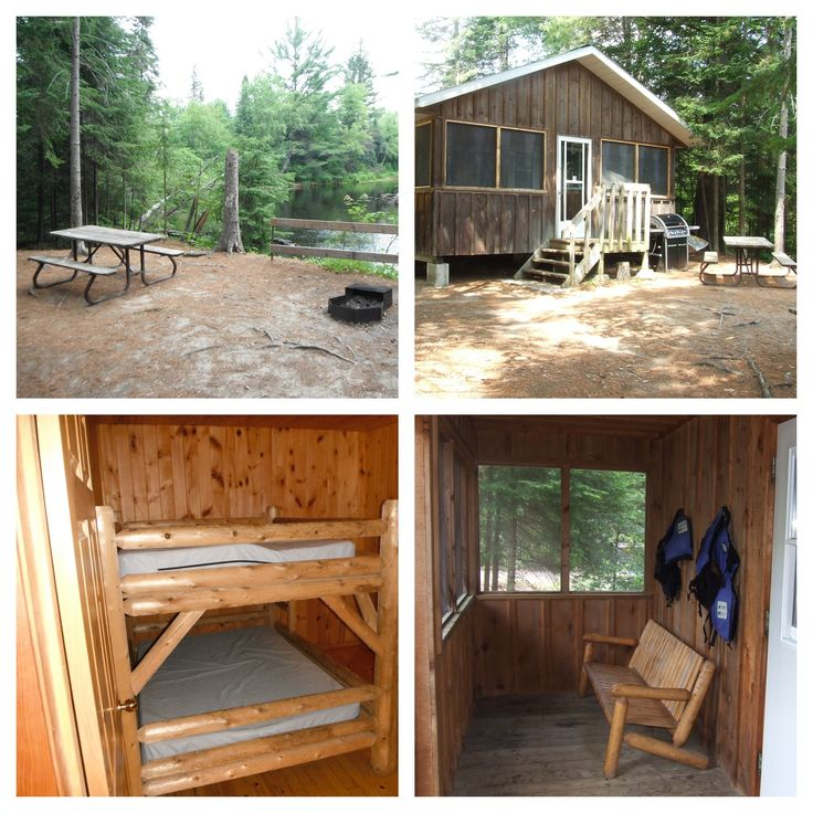 Riverwatch Cabin, Bonnechere Provincial Park   http://www.ontarioparks.com/roofedaccommodation/