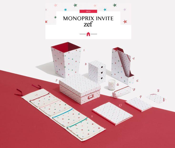 Ma Sérendipité     Monoprix <3 Zef • Collection Déco