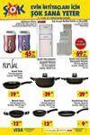 Şok aktüel ürünler, güncel şok market kampanyaları düzenli olarak yayınlanıyor.