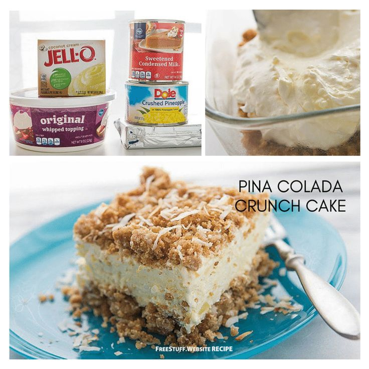 These are so good even if you're not a pina colada fan. You can use any crunchy granola bars you like!