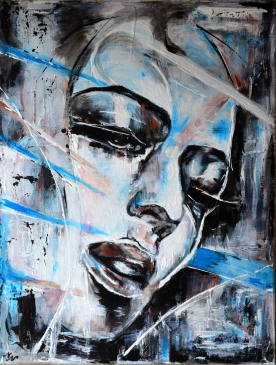 Buy Abstract Face 3- Metropolis, Acrylic painting by Misty Lady on Artfinder. Discover thousands of other original paintings, prints, sculptures and photography from independent artists.