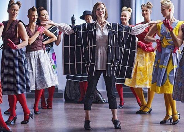 The Scandinavian Film Festival's Armi Alive is a phenomenal film about the life Armi Ratia the founder of Finnish clothing and textile company Marimekko. #armialive #ArmiRatia #swedishfilmfestival #bright #colourful #Indulge #EatLivePlay #SEQ