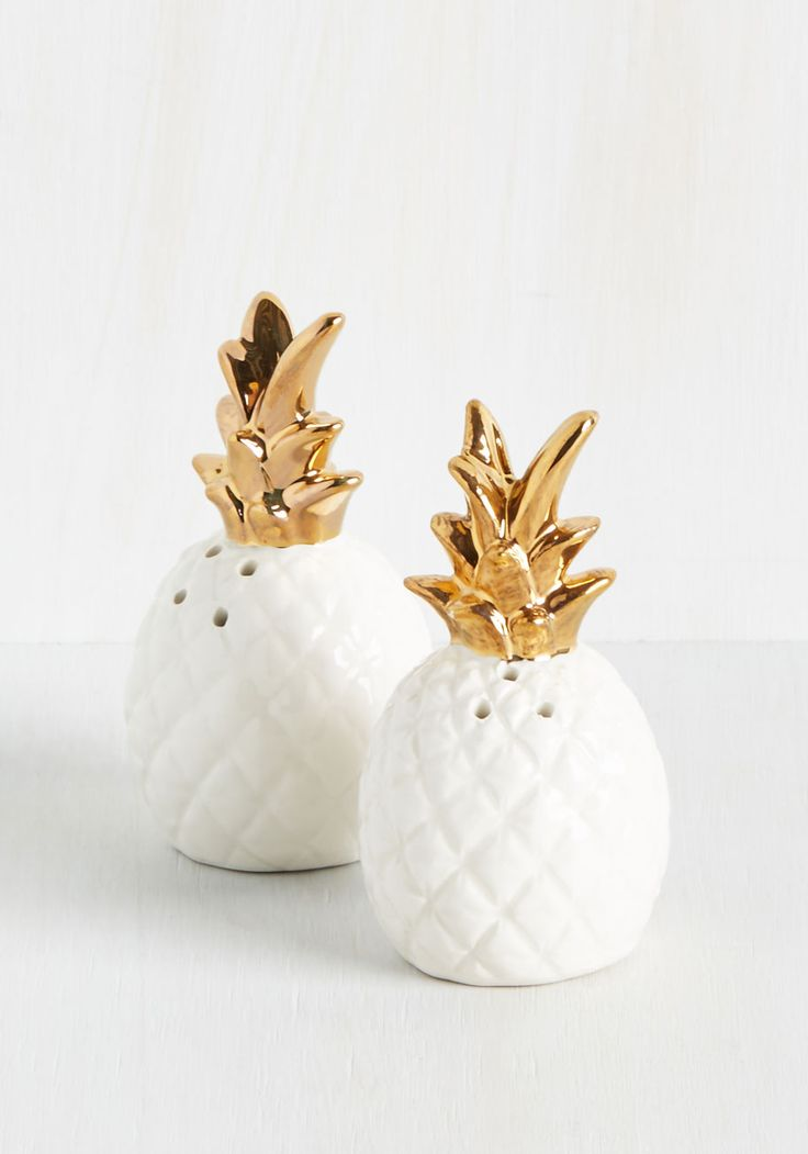 Equator to Your Needs Shaker Set. If your cuisine could use a little spice, this set of ceramic salt and pepper shakers can cure just that! #white #wedding #modcloth