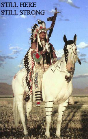 Native Americans Indians - Still Here...Still Strong.