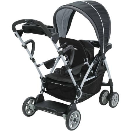 Graco Room For 2 Click Connect Stand & Ride Double Stroller, Gotham - Walmart.com