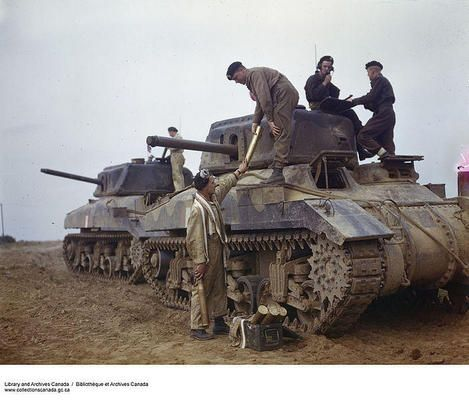 The Ram was a cruiser tank designed and built by Canada in the Second World War, based on the U.S. M3 Medium tank. Due to standardization on...