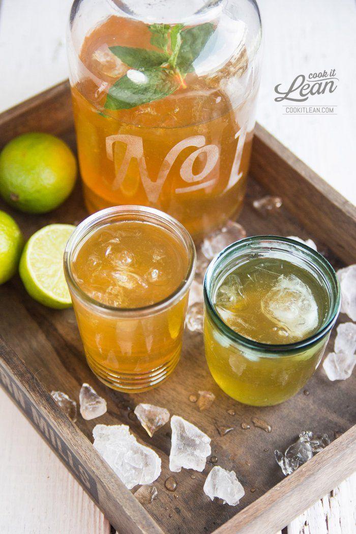 MInt ice tea (sugar free)