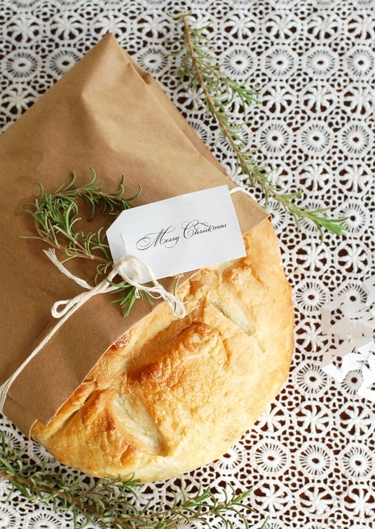 Rosemary Olive Oil Bread *** :: love the packaging
