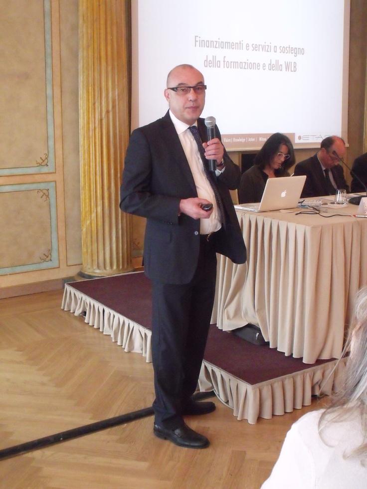 Finanziamenti e servizi a sostegno della formazione e della WLB - Paolo Benedetti, Finanziamenti per la Formazione