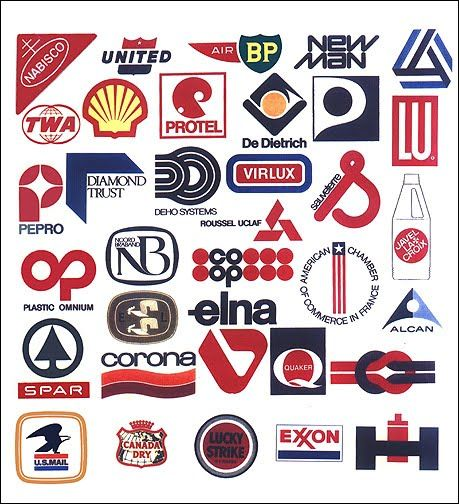 Logos over the years by Raymond Loewy