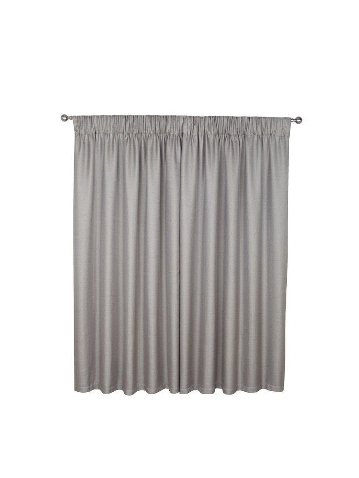 Rimini Pencil Pleated Curtains in 3 widths, 3 drops and 2 colour options Bring a hint of classic style to your windows with the timeless designof the Rimini collection.In a choice of two colours – grey and cream – they feature a plain, tight weave that gives them a real look and feel of quality, while the lining helps to reduce the amount of natural light that comes into the room.These pleated curtains have a 15 cm (6 inch) heading tape for hanging on poles or tracks.In drops of 137 cm (54…