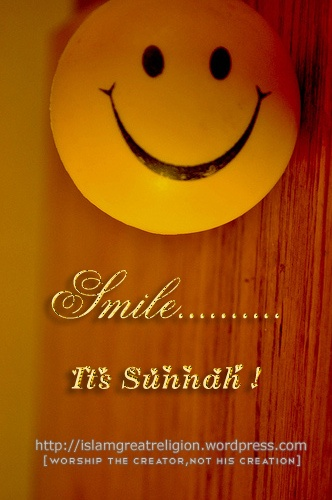 Smile .... Its Sunnah !