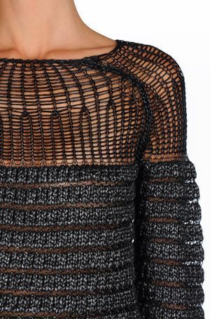 knitmood:  Alberta Ferretti | source: Knit Mood